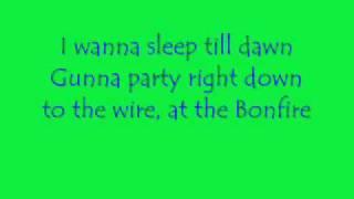 Bonfire Lyrics