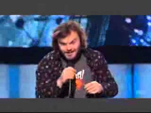 Jack Black is Assessed on American Idol