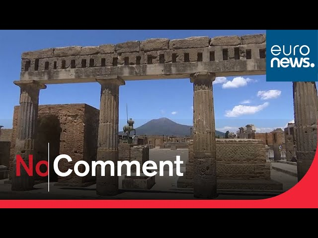 Italy's archaeological site Pompeii reopens - but with restrictions