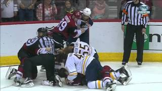 Gotta See It: Sabres, Coyotes clash after final horn goes