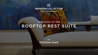 Explore the Christine Clark Suite at the Radisson Collection Hotel, Royal Mile Edinburgh