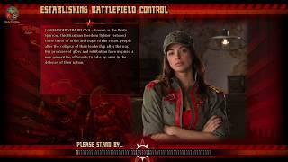 Command & Conquer Red Alert 3 Unprising - Destroy Enemies with Harbinger Gunship