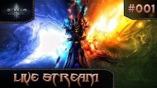 Diablo 3 Reaper of Souls Season 13 - HC Wizard Gameplay - E01