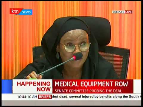 Senate committee probe lease of health equipment not used at the counties