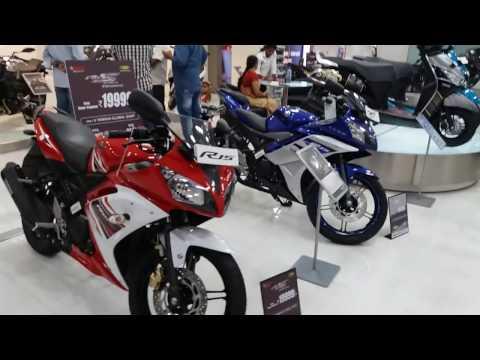 India's First Yamaha Global Shop in Chennai | Showroom Walkaround | MT 09,V MAX,R3,R15,FZ Etc Etc