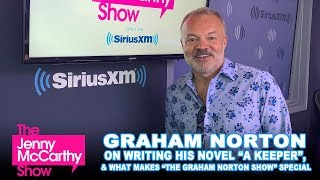 "Graham Norton on ""A Keeper"" and what makes his show special"