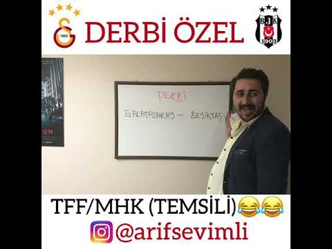 GALATASARAY-BEŞİKTAŞ DERBİ ÖZEL - MHK/TFF (TEMSİLİ)