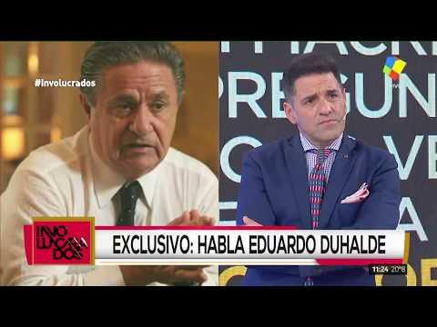 Eduardo Duhalde: La situación es parecida a la del 2001