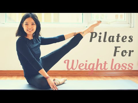 Best Pilates For Weight Loss �� 1 Hour Fat Burning Full Body Mat Workout