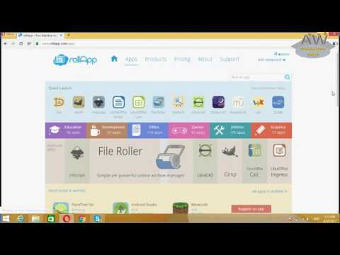 how to run desktop applications online on web browser