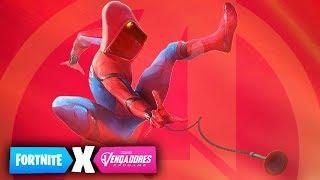 SPIDERMAN EN FORTNITE?? GAMEPLAY EXCLUSIVO 100% REAL