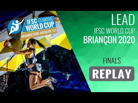 IFSC Climbing World Cup Briançon 2020 - Lead Finals