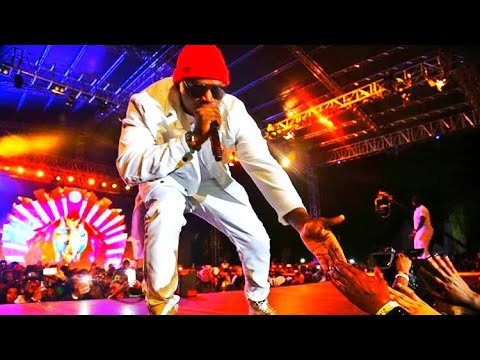 Khaligraph Jones Performance At Rick Ross Concert