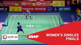 F | WS | CHEN Yu Fei (CHN) [1] vs. Ratchanok INTANON (THA) [6] | BWF 2019