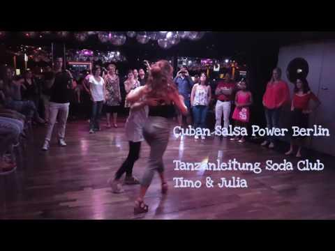 Salsa Cubana Anfänger Klasse-  Demonstration - Timo y Julia