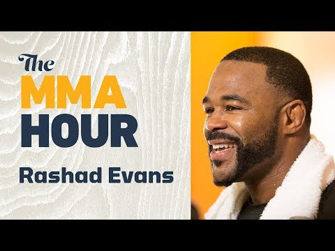 Rashad Evans: Camp Change, Mexico City Booking Key to Getting Out of Comfort Zone