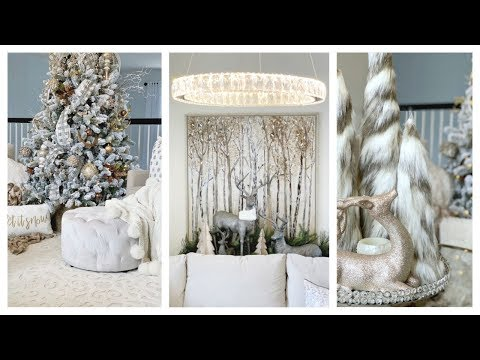 Christmas Home Tour Series  | Woodlands Elegant Glam Loft Space Decor Ideas