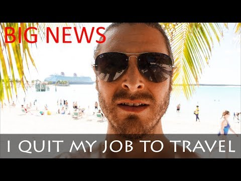 ELECTRICIAN QUITS JOB TO TRAVEL THE WORLD