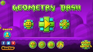 Geometry Dash 2.01 Download Link Here! :D Android and Steam!