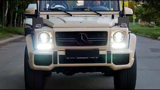 Mercedes Gelandewagen G Wolf 500 - лютый гелик! Уникальный G-класс