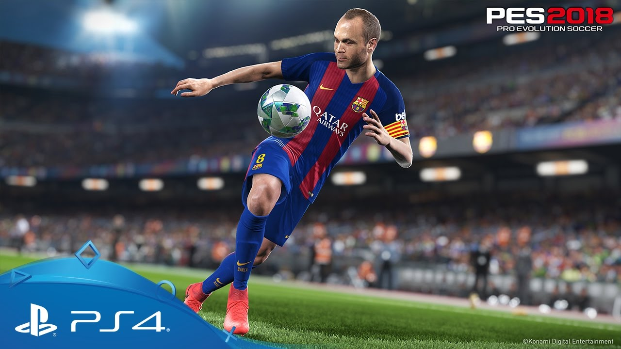 Pes 2018 Teaser Trailer Ps4 Youtube