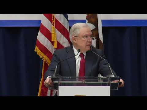 Jeff Sessions Delivers The Trump Philosophy On Immigration 3-7-18