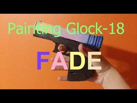 Painting glock 18 | Fade