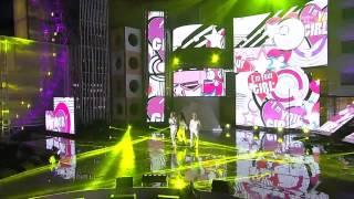 Luna , Jiyeon , IU - I'm Your Girl @ MBC Gayo Daejun 2011