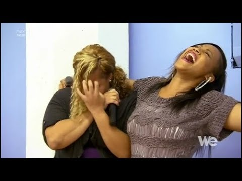 Mary Mary: Erica Campbell singing with...