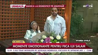 Momente emoționante pentru fiica lui Florin Salam. Betty și iubitul se căsătoresc