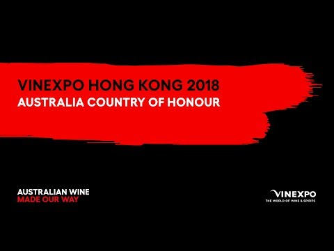 Vinexpo Hong Kong 2018 – The Largest Ever Showcase Of Australian Wine Overseas