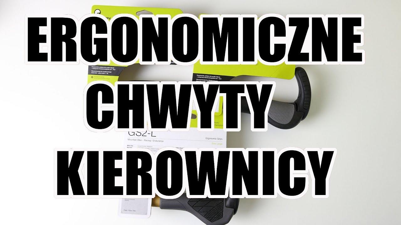 Ergonomiczne chwyty kierownicy // Rowerowe Porady