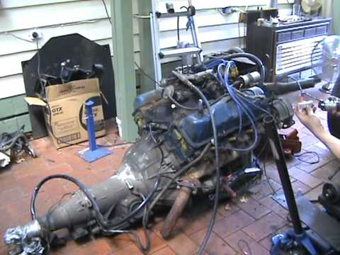 Ford 351 V8 Coming back to Life (HQ)