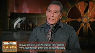 Wes Studi On The Difference Between TV Westerns And Film Westerns.