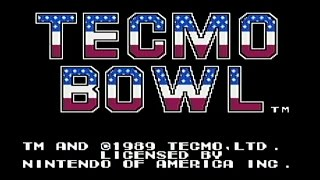 Tecmo Bowl Gameplay [NES Classic Edition]