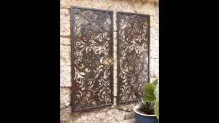 Outdoor Wall Decorations Ideas   Home Art Design Decorations