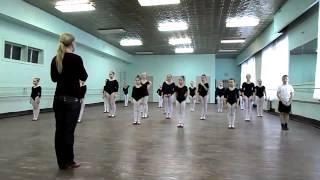 Открытый урок по народному танцу. Тема Дроби и выстукивания.