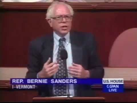 Bernie Sanders on Health Care and Free Trade (6/24/1999)