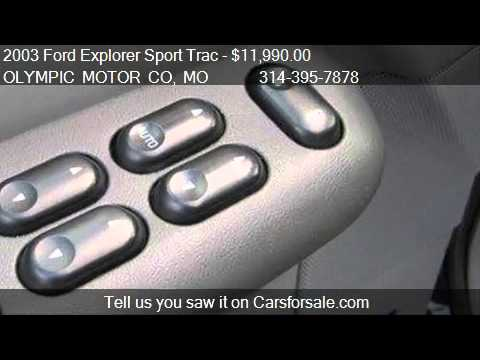 2003 Ford Explorer Sport Trac Xls 4x4 For Sale In