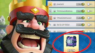 Clash Royale - WHAT DID I GET? SECOND TOURNAMENT CHEST OPENING!