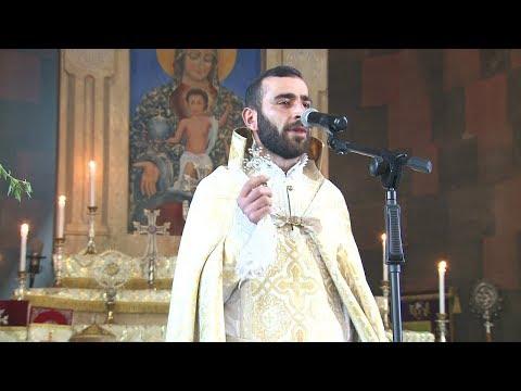 Ծաղկազարդը Արմավիրի Սուրբ Գրիգոր Նարեկացի եկեղեցում
