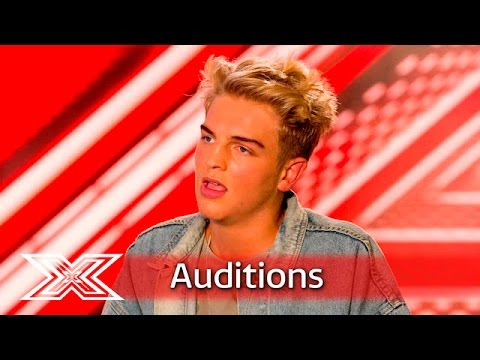 Freddy Parker… the modest boy with the massive voice? | Auditions Week 2 | The X Factor UK 2016