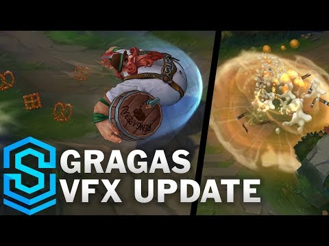 Gragas Visual Effect Update - All Skins Comparison | League Of Legends