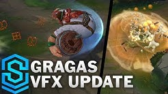 Gragas Visual Effect Update - All Skins Comparison | League Of Legends