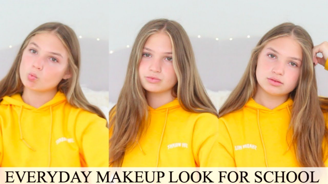 Everyday makeup for school school makeup tutorial youtube everyday makeup for school school makeup tutorial baditri Images