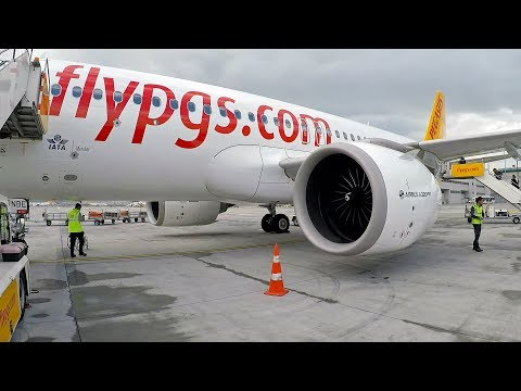 Pegasus A320NEO Istanbul- Milano Bergamo Flight Review