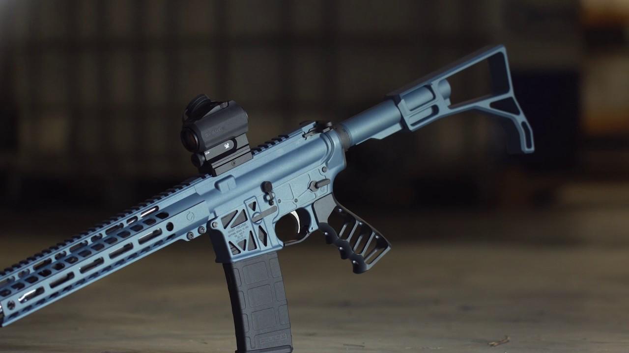 Blue Titanium Rifle Build