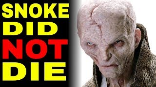 Snoke Did Not Die: Star Wars The Last Jedi Theory