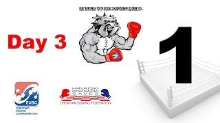 EUBC European Youth Boxing Championships - Zagreb 2014 - Day 3