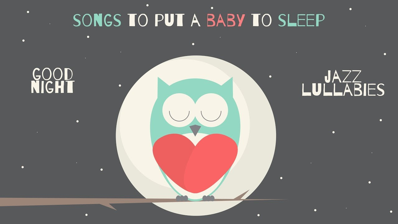 Jazz LULLABIES for babies to go to sleep - Baby Sleep Music
